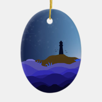 The Lighthouse Christmas Ornament