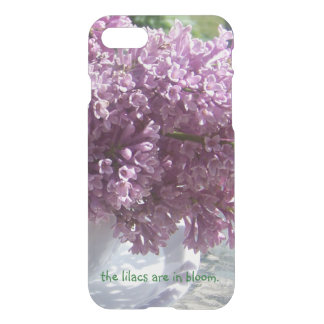"""The lilacs are in bloom."" iPhone 8/7 Case"