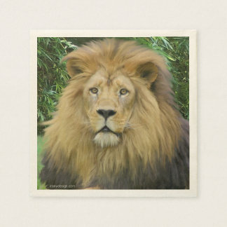 The Lion Paper Napkins