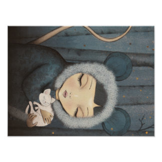 The little Mouse Princess - art print