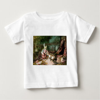 The Little Old Man of the Woods Mural Vintage Baby T-Shirt