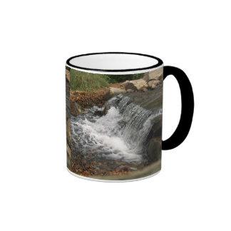 The Little Waterfall (John 4:13-14) Ringer Mug