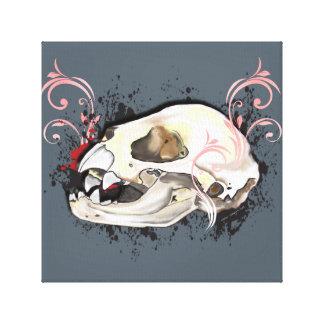 The Littlest Vampire Canvas Print
