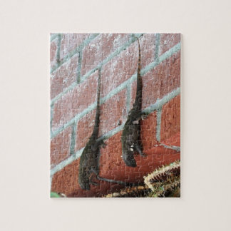 The lizards hang out jigsaw puzzle
