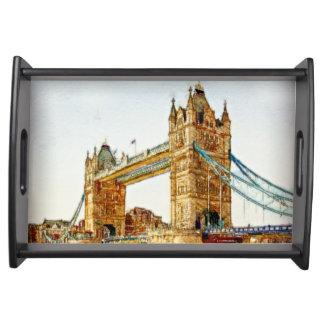 The London Bridge Serving Tray