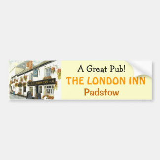 'The London Inn' Bumper Sticker Car Bumper Sticker