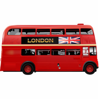 The London Red Bus Photo Sculpture Magnet