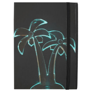 """The Look of Neon Lit Up Tropical Palm Trees iPad Pro 12.9"""" Case"""