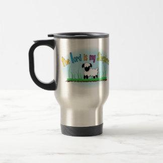The Lord is my Shepherd Christian travel mug