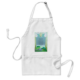 The Lord's Prayer Christian themed art Aprons