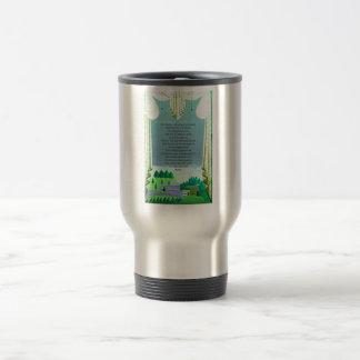 The Lord's Prayer Christian themed art Travel Mug