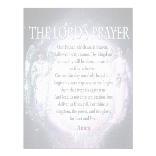 The Lord's Prayer Flyers