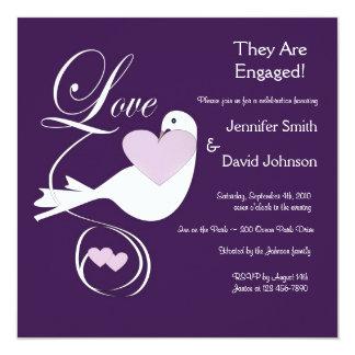 The Love Dove Engagement Announcement