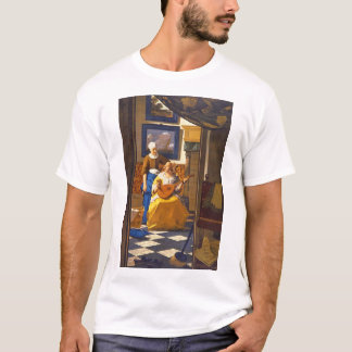 The Love Letter', Jan Vermeer_Dutch Masters T-Shirt