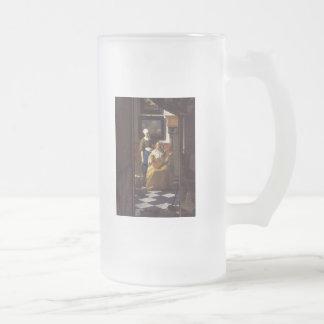 The Loveletter Frosted Glass Mug