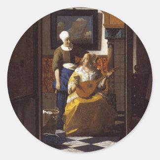 The Loveletter Round Sticker