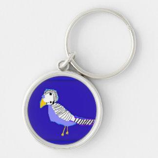 The Lovely Lovebird Key Ring