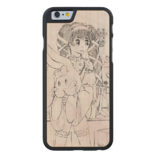 The Lover Carved Maple iPhone 6 Case