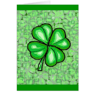 The Luck of the Irish. Card