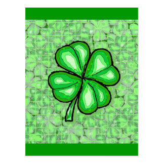 The Luck of the Irish. Postcard