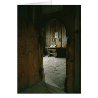 The Luther Room in the Wartburg Castle Card