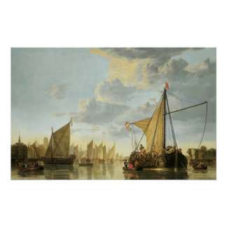 The Maas at Dordrecht; 1650 Posters