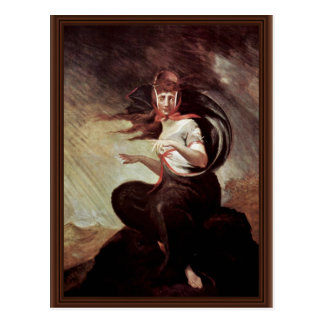 The Mad Kate By Füssli Johann Heinrich (Best Quali Postcard