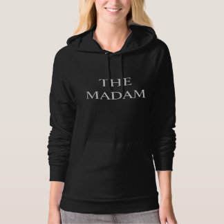 THE MADAM BLACK HOODIE