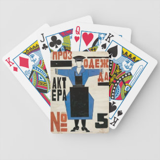 The magnanimous Cuckold by Lyubov Popova Playing Cards