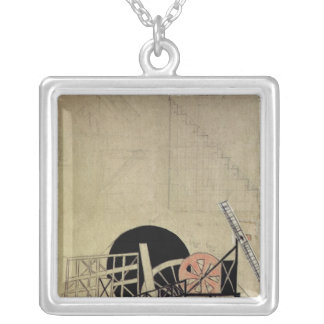 The Magnanimous Cuckold' Silver Plated Necklace