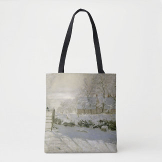 The Magpie by Claude Monet Tote Bag