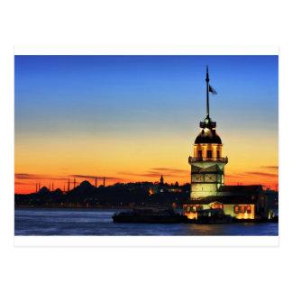 The Maiden's Tower-Kiz Kulesi Postcard