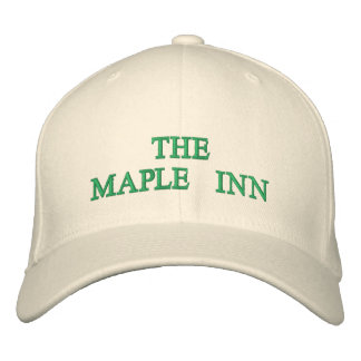 THE MAPLE INN EMBROIDERED CAP