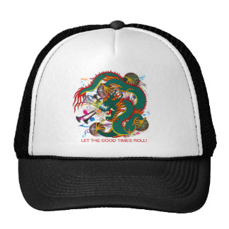 The-Mardi Gras Dragon V-2 Cap