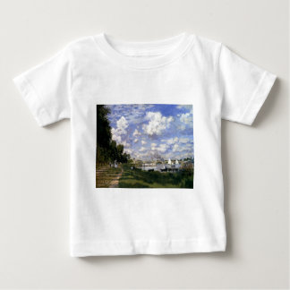 The Marina at Argenteuil by Claude Monet Baby T-Shirt