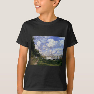 The Marina at Argenteuil by Claude Monet T-Shirt