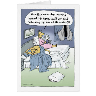 """The Marriage Bed"" Card"