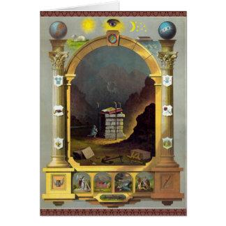 The Masonic Chart Card