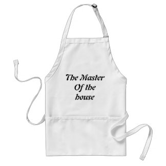 The master of the house standard apron