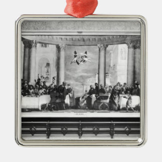 The Meal at the House of Simon the Pharisee 2 Christmas Ornament