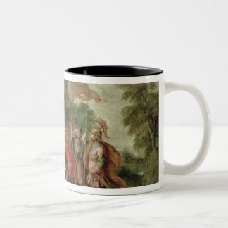 The Meeting of Abraham and Melchizedek Two-Tone Coffee Mug