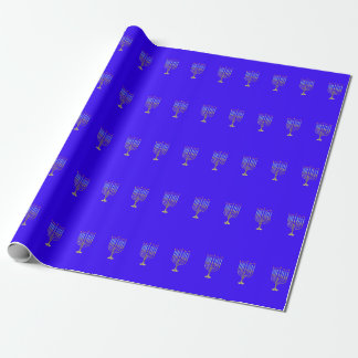 The Menorah Wrapping Paper