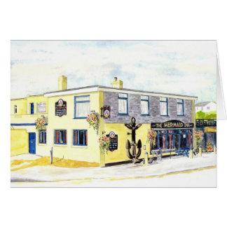 'The Mermaid Inn (Porth)' Card