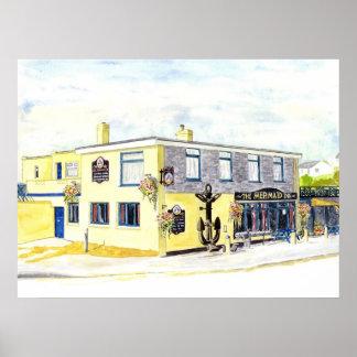 'The Mermaid Inn' Print