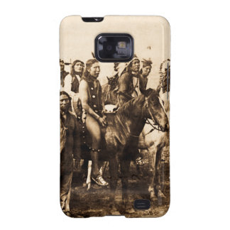 The Mighty Sioux Vintage Native American Warriors Samsung Galaxy SII Covers