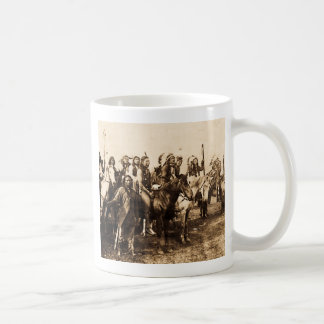 The Mighty Sioux Vintage Native American Warriors Coffee Mug