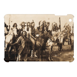 The Mighty Sioux Vintage Native American Warriors iPad Mini Covers