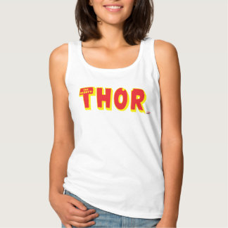 The Mighty Thor Logo Singlet