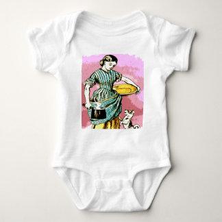 the Milk Maid Baby Bodysuit