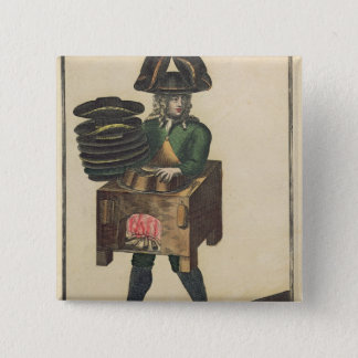 The Milliner's Costume 15 Cm Square Badge